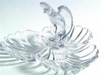 Cambridge 3 part Eagle Relish Dish